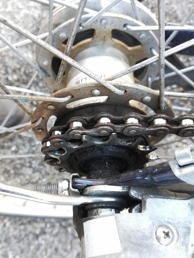 自転車 ギア ワイヤー 交換